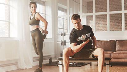 Thuis blijven trainen met fitnessapparaten