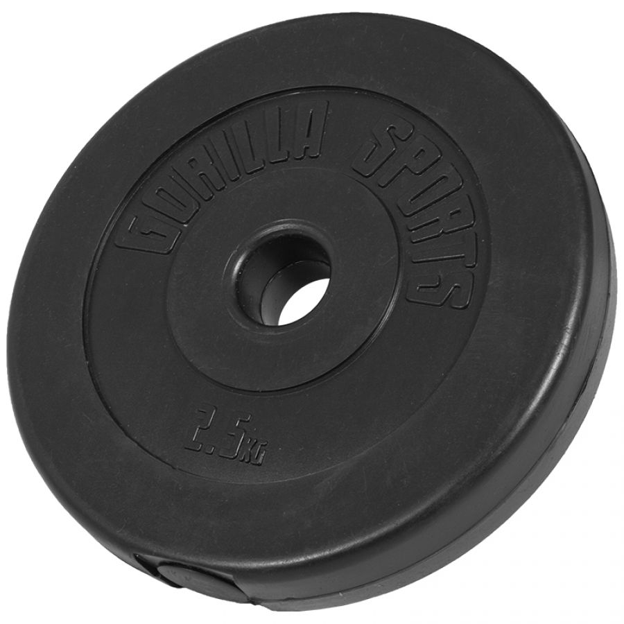 Halterschijf 2,5 kg Kunststof