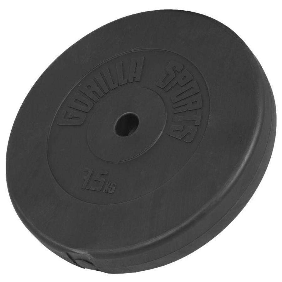Halterschijf 7,5 kg Kunststof