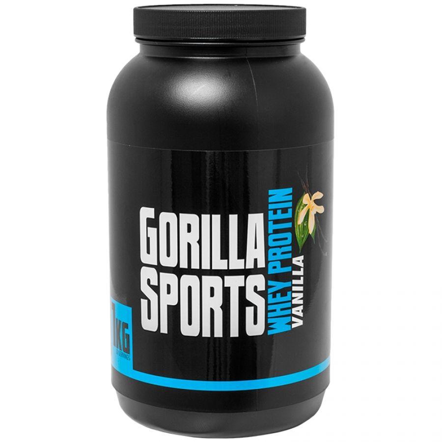 Gorilla Sports 1 kg Whey Proteïne Vanille