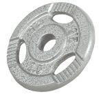 Voordeelbundel 30 kg (4 x 5 kg en 4 x 2,5 kg) halterschijven Gripper -100636068