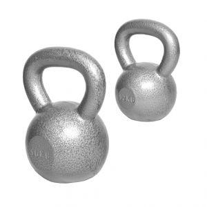 Voordeelset Kettlebells 12 en 16 kg Gietijzer