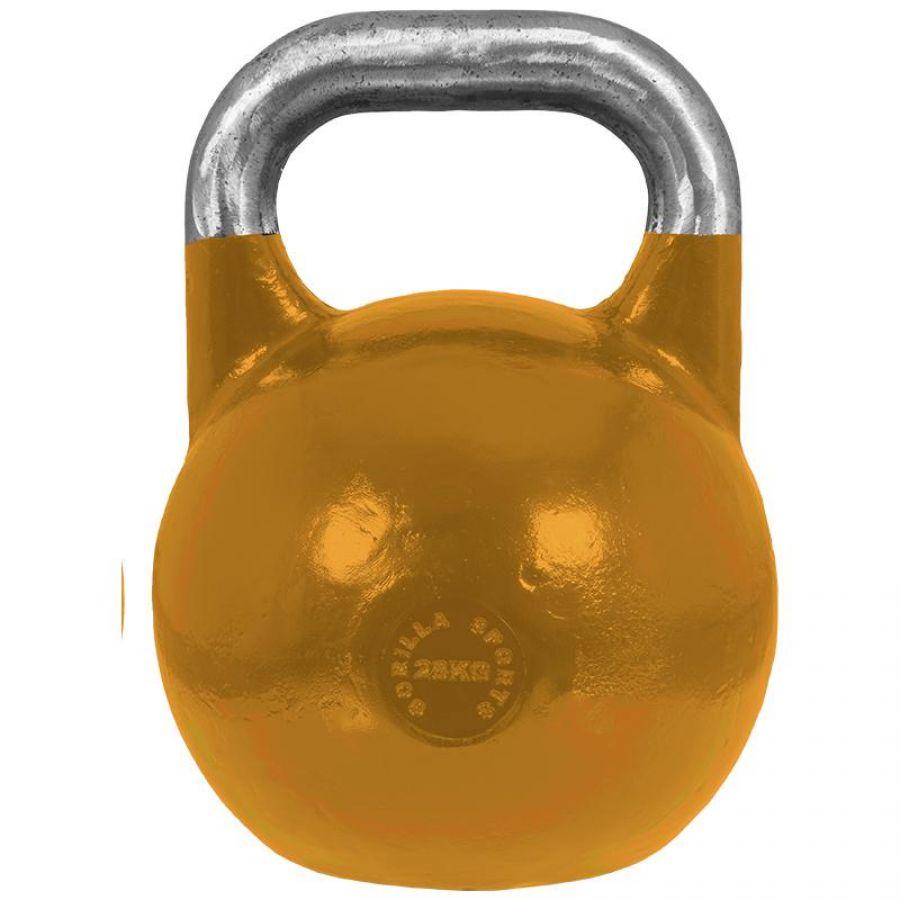 Gorilla Sports Kettlebell 28 kg Staal (competitie kettlebell)