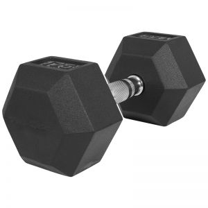 Dumbell 17,5 kg (1 x 17,5 kg) Hexagon Rubber