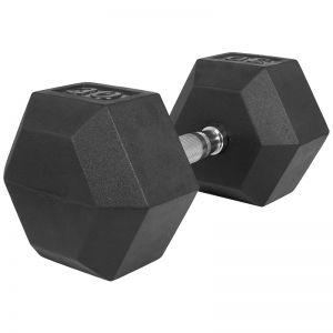 Dumbell 30 kg (1 x 30 kg) Hexagon Rubber