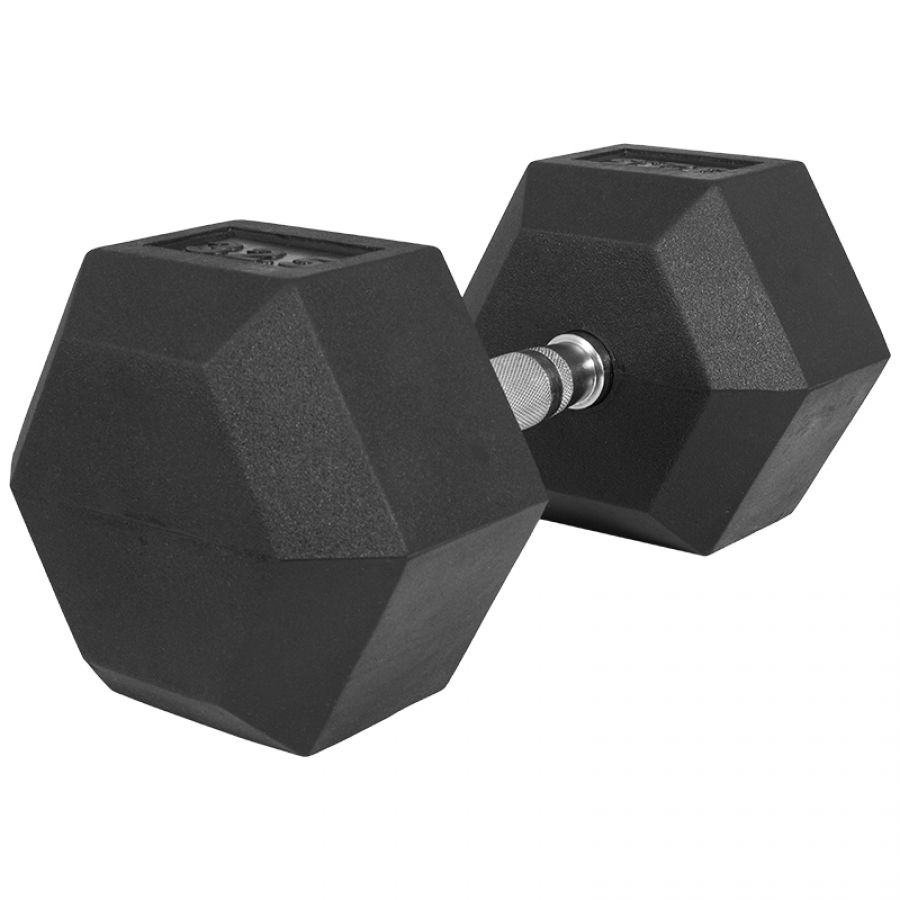 Dumbell 32,5 kg Hexagon Rubber