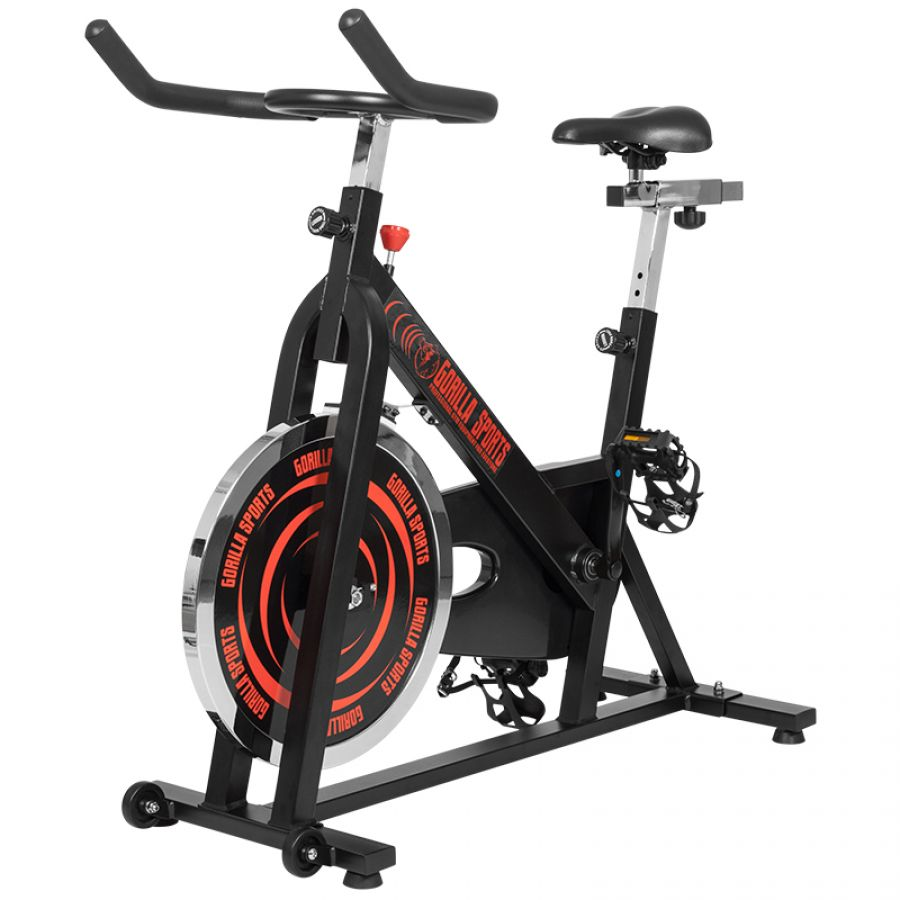 Gorilla Sports Indoor Cycling Bike - Hometrainer - Spinning Fiets - Belastbaar tot 110 kg