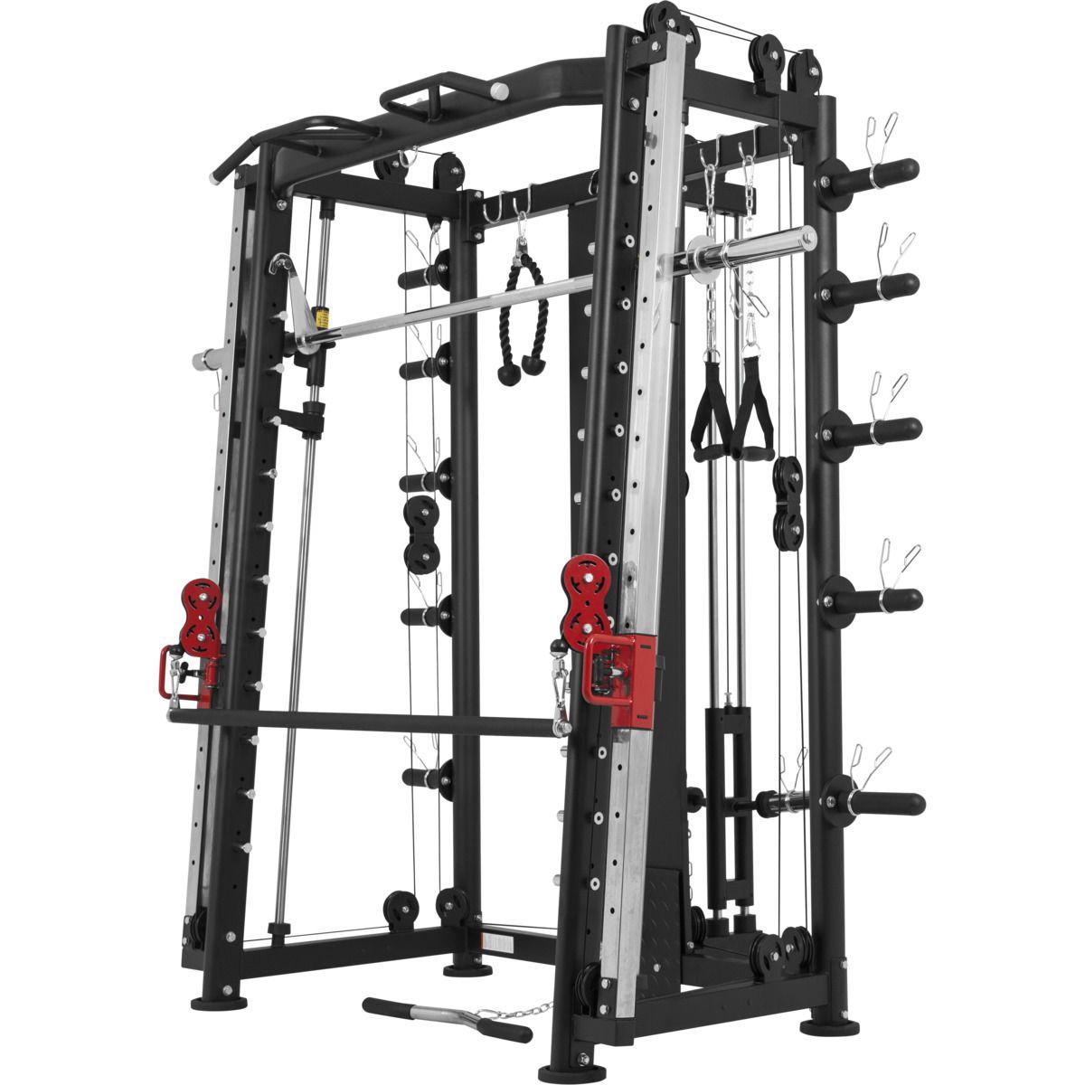 Multifunctionele Smith Machine Full body training