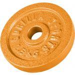 Halterschijf 2,5 kg Gietijzer Goud-100657932