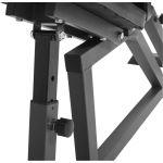 Multifunctionele Fitnessbank (Zwart / Grijs)-100662537