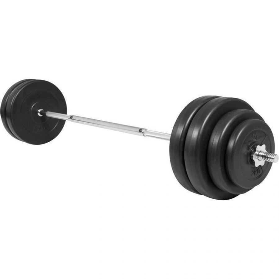 Halterset 60 kg Kunststof (25 mm)