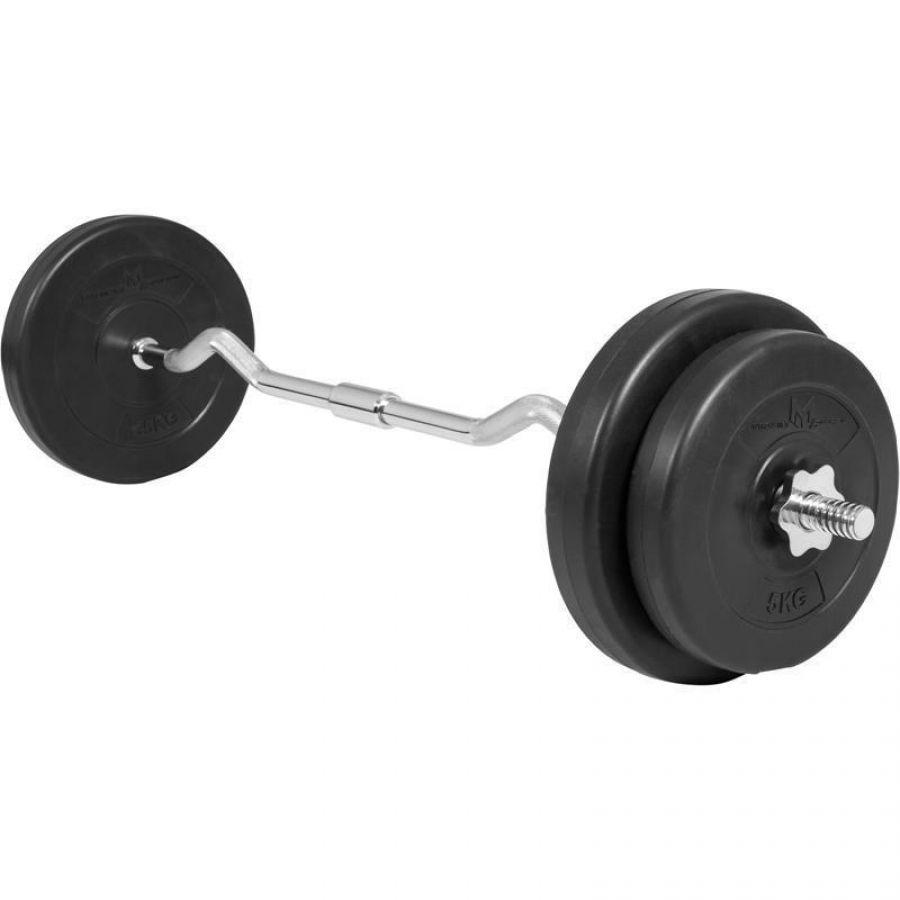 EZ Curl Halterset 30 kg Kunststof (25 mm)