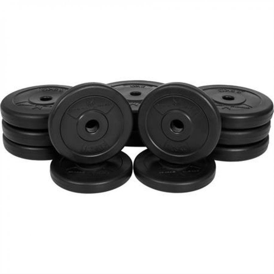 Voordeelbundel 30 kg (NB opening circa 25 mm, 2 x 5 kg, 6 x 2,5 kg, 4 x 1,25 kg)