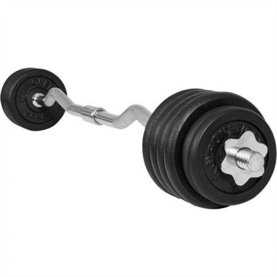 Gyronetics EZ Curl Halterset 30 kg Gietijzer (25 mm)