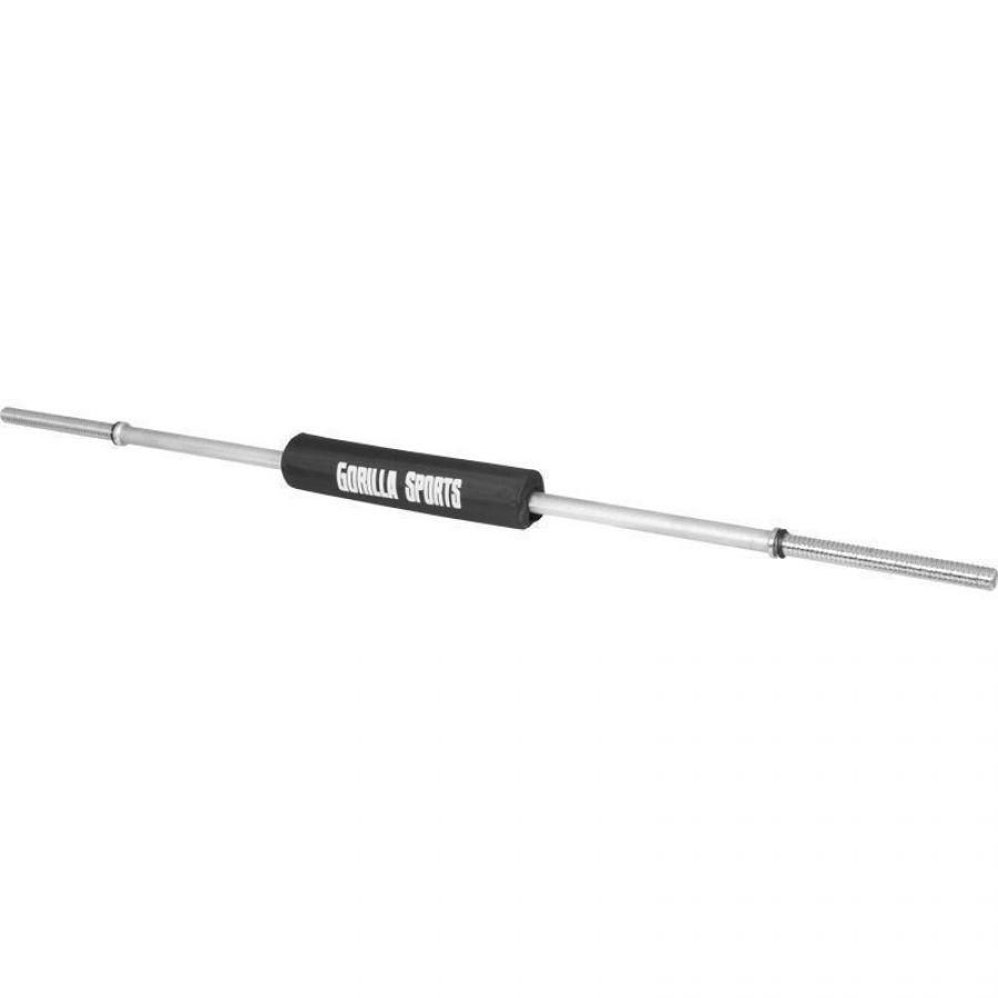 Lange halterstang 170 cm schroefsluiting met Bar Pad