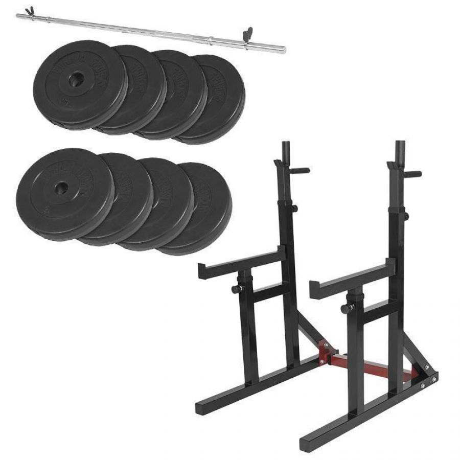 Multi Squat Rack 40 kg Set (30 mm)