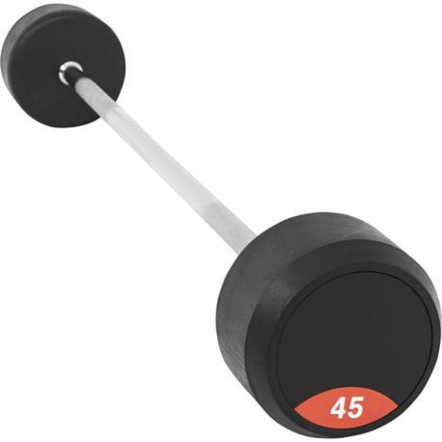 Vaste Halterstang 45 kg Rubber