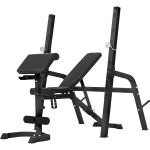 Halterbank / Squat Rack Zwart-100677183