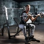 Halterbank / Squat Rack Zwart-100677199