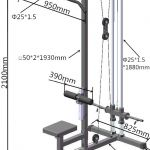 Lat Pulley Machine-100680352