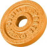 Halterschijf 1,25 kg Gietijzer Goud-100682529