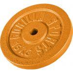 Halterschijf 15 kg Gietijzer Goud-100682724