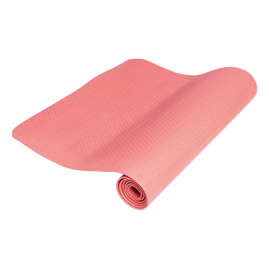 Yogamat Rood Extra Dun (4 mm)