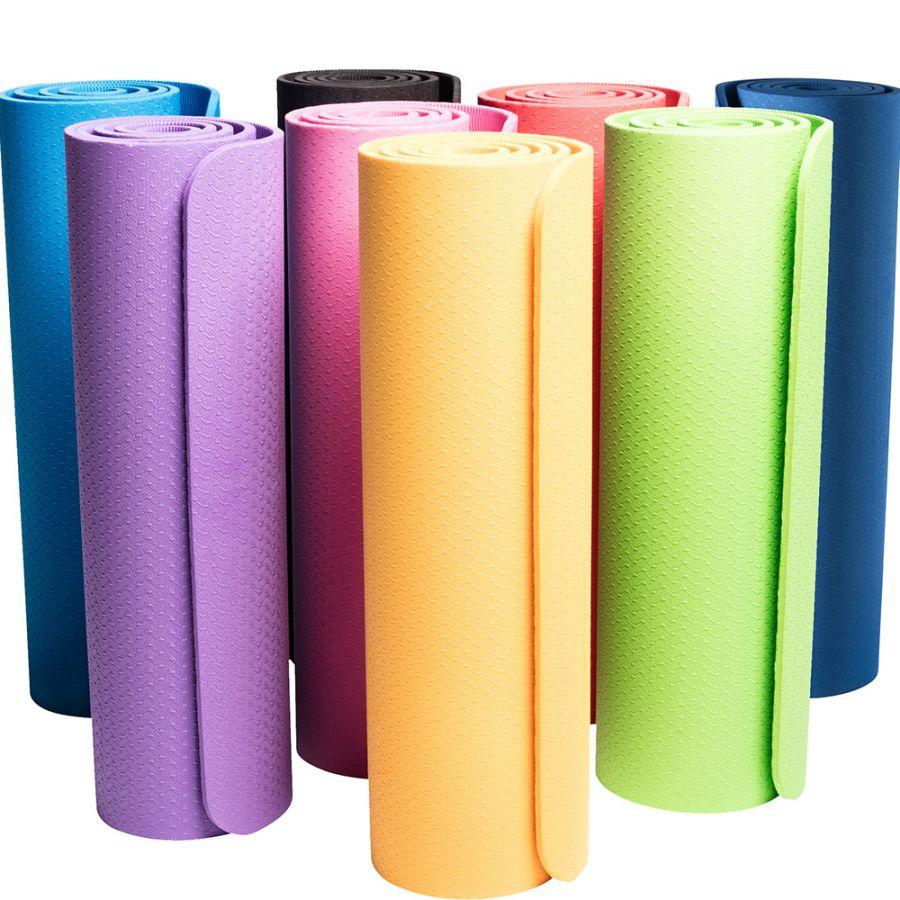 Yogamat Diverse Kleuren Extra Dun (10 mm)