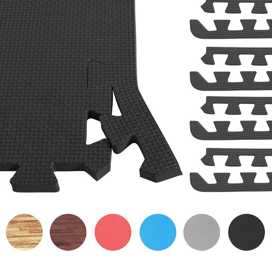 Eindstukken (8) Vloer Beschermingsmatten (Diverse Kleuren)
