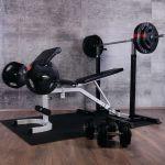 Fitnessbank + Halterset (Complete Set)-100699992