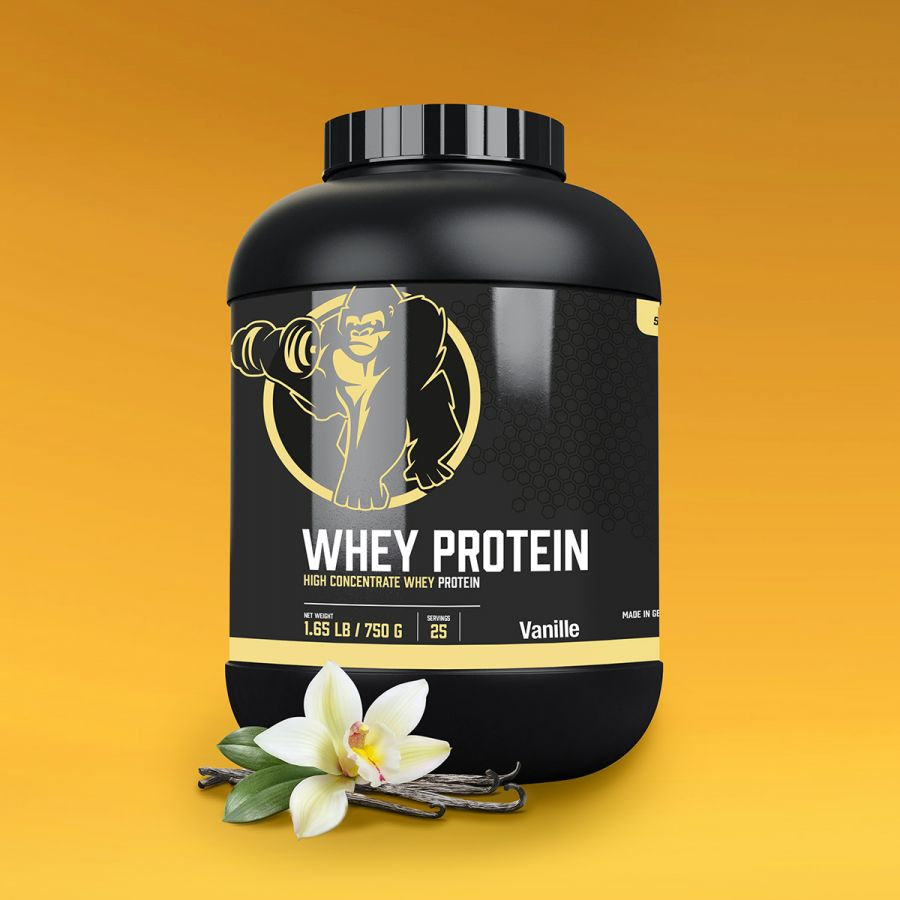 Gorilla Sports Whey Proteïne 750 g Vanille