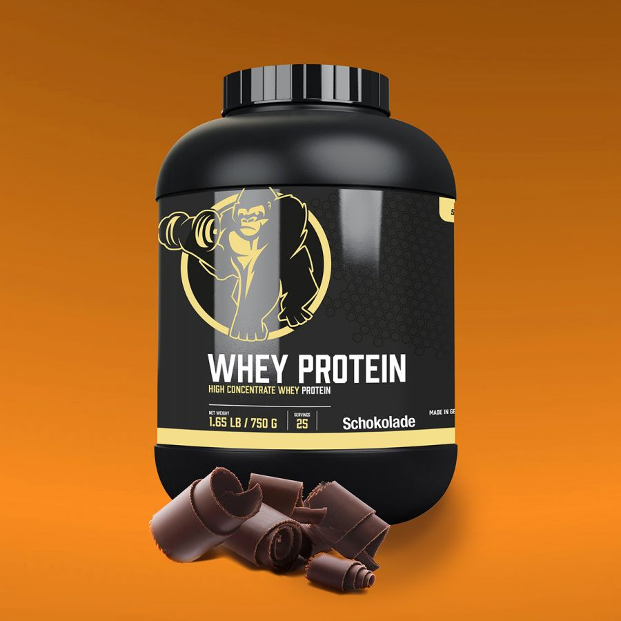 Gorilla Sports Whey Proteïne 750 g Chocolade