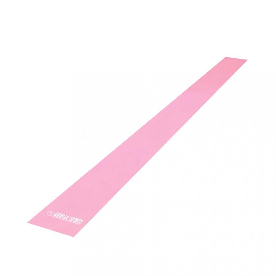 Fitnessbanden Latex 120 cm | Roze