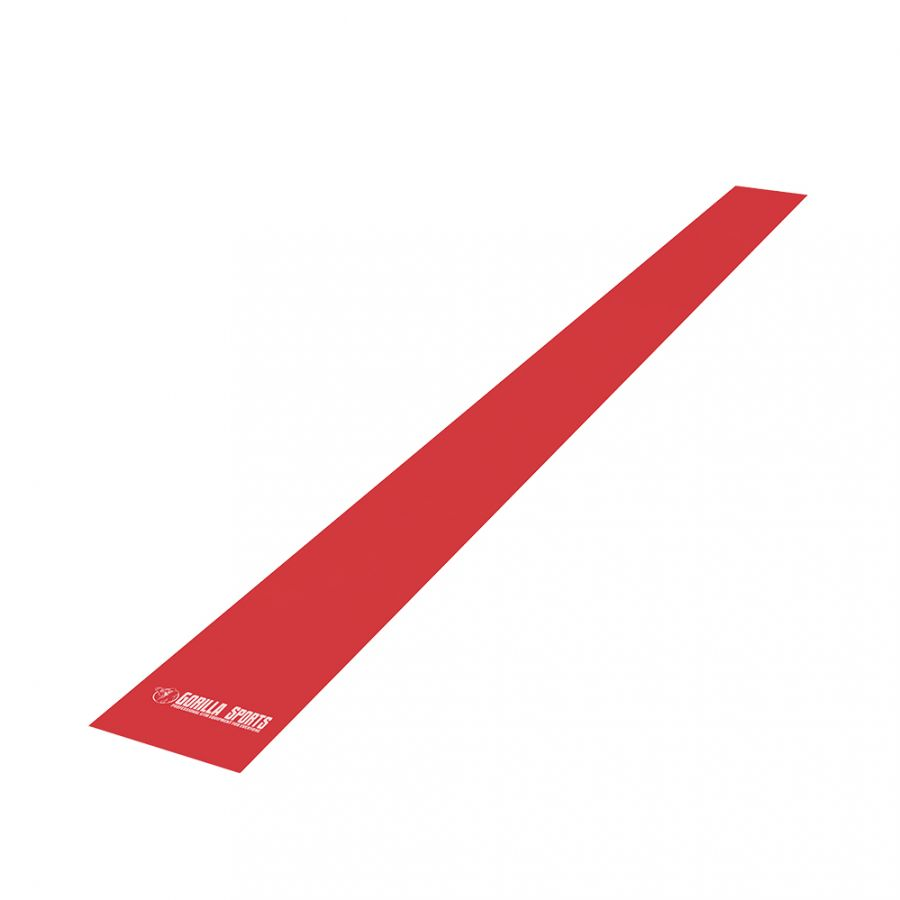 Fitnessbanden Latex 120 cm | Rood