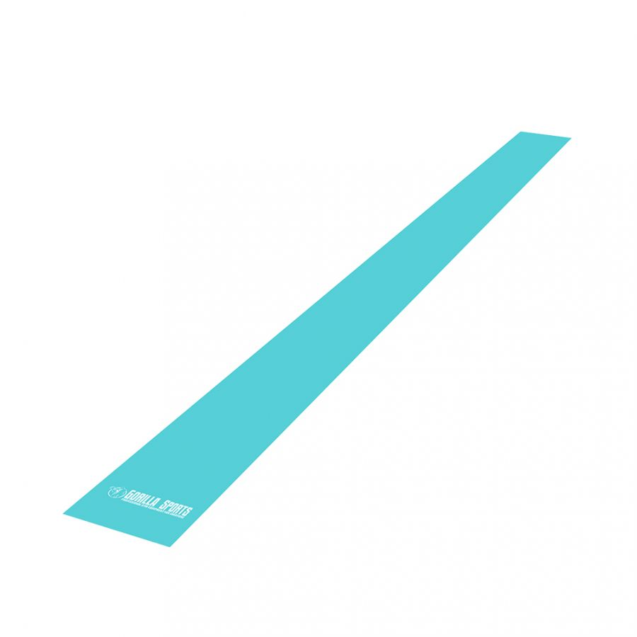 Fitnessbanden Latex 200 cm | Turquoise
