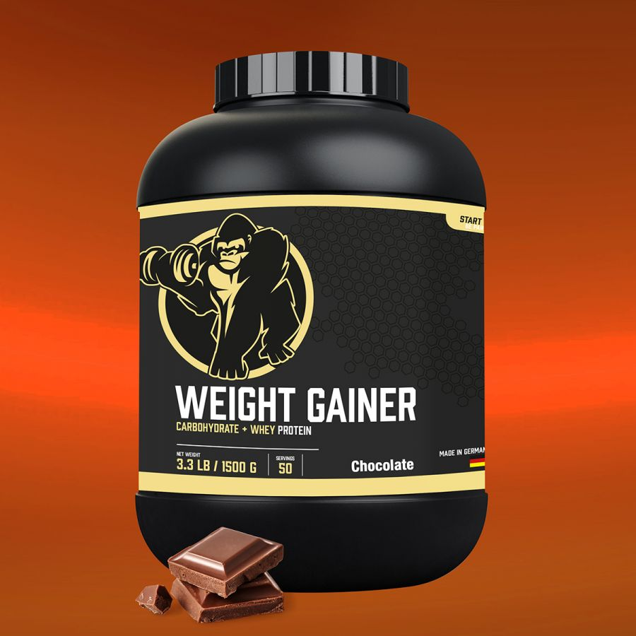 Gorilla Sports Weight Gainer 1,5 kg Chocolade