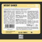 Gorilla Sports Weight Gainer 1,5 kg Aardbei-100702582