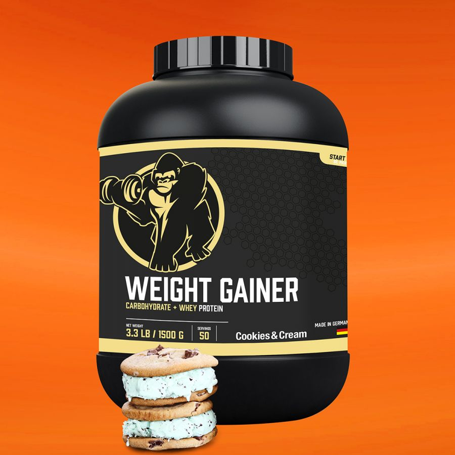 Gorilla Sports Weight Gainer 1,5 kg Cookies Cream