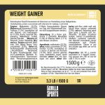 Gorilla Sports Weight Gainer 1,5 kg Cookies Cream -100702595