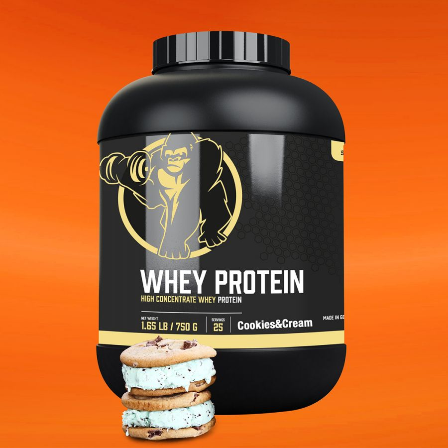Gorilla Sports Whey Proteïne 750 g Cookies cream