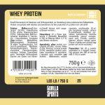 Gorilla Sports Whey Proteïne 750 g Kokosnoot -100702612