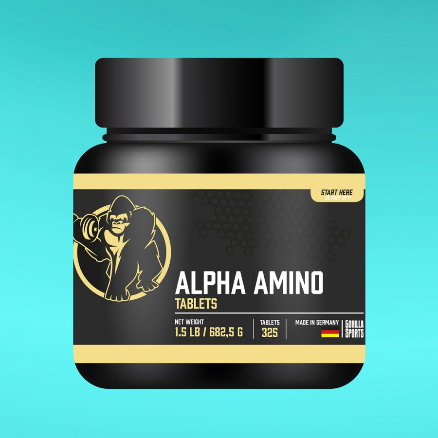 Alpha amino 325 tabletten