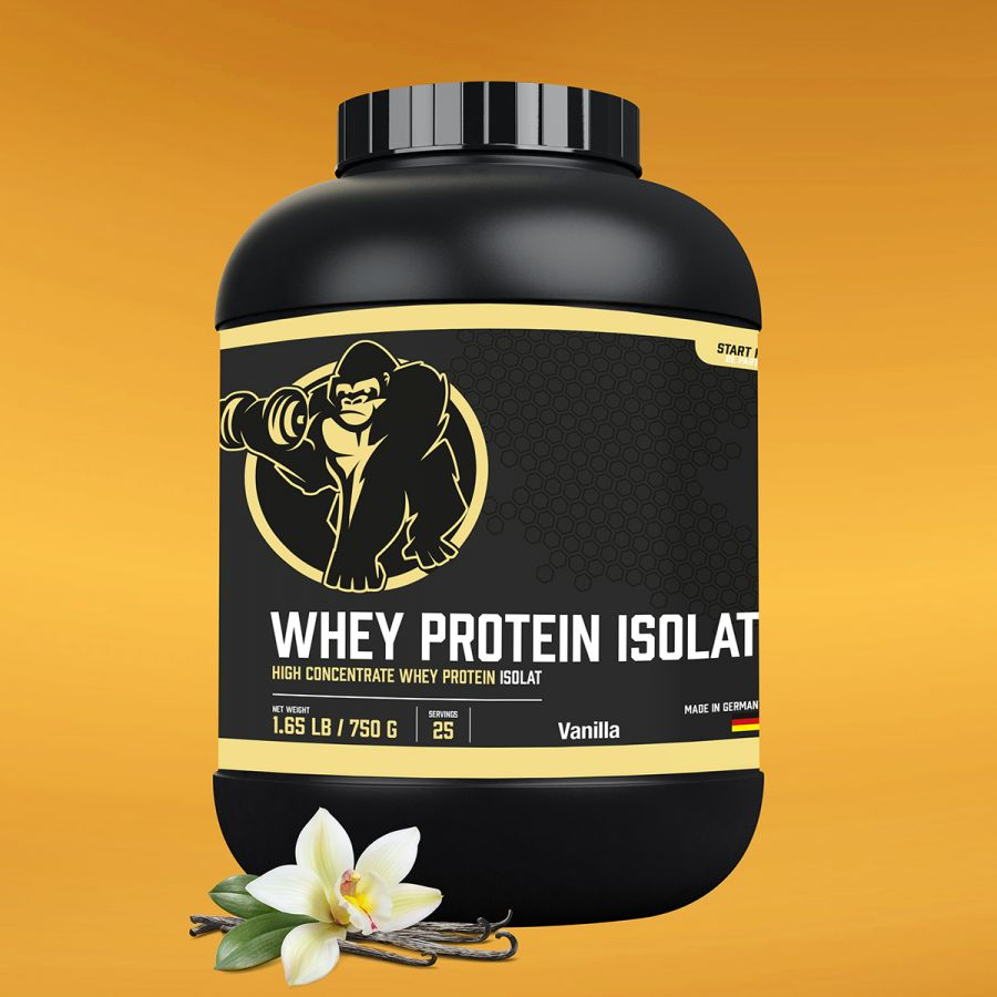 Whey Protein Isolaat Vanille 750g