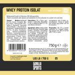 Whey Protein Isolaat Vanille 750g-100702621