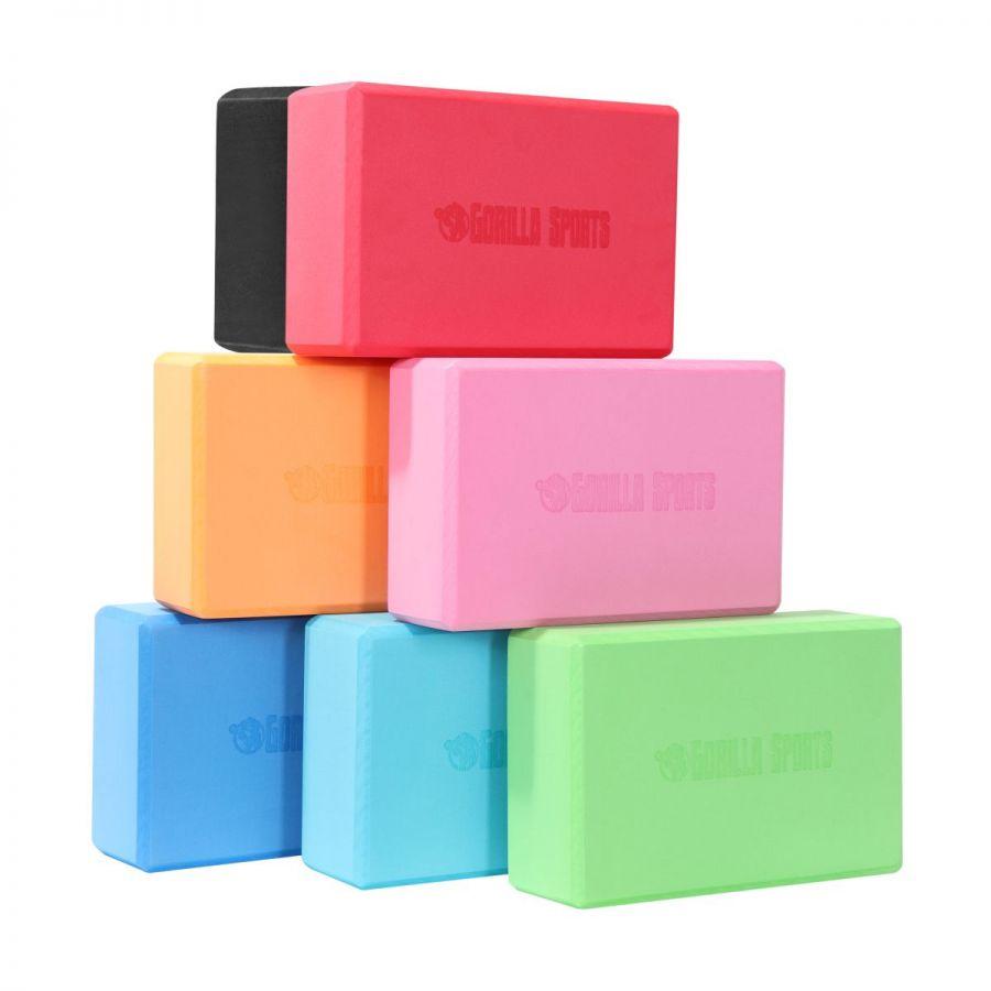 Yoga Blok ( 7 kleuren)