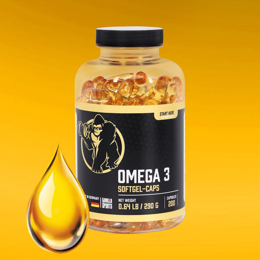 Omega-3 capsules 200 stuks