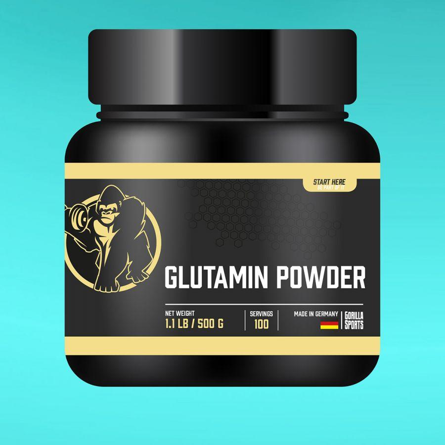 Glutamine Poeder 500 gram