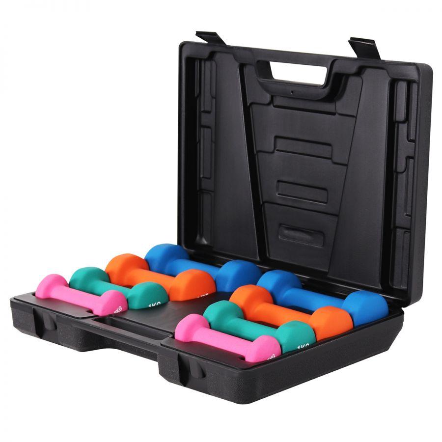 Aerobics Set 10 kg incl. Koffer