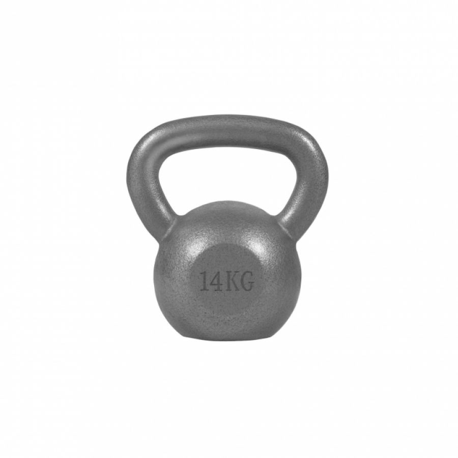Kettlebell 14 kg Gietijzer - Gorilla Sports