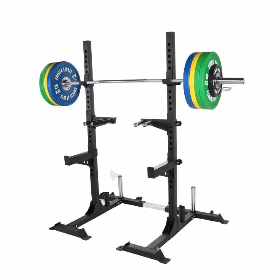 Squat Rack met Professionele Olympische Halterset 140 kg